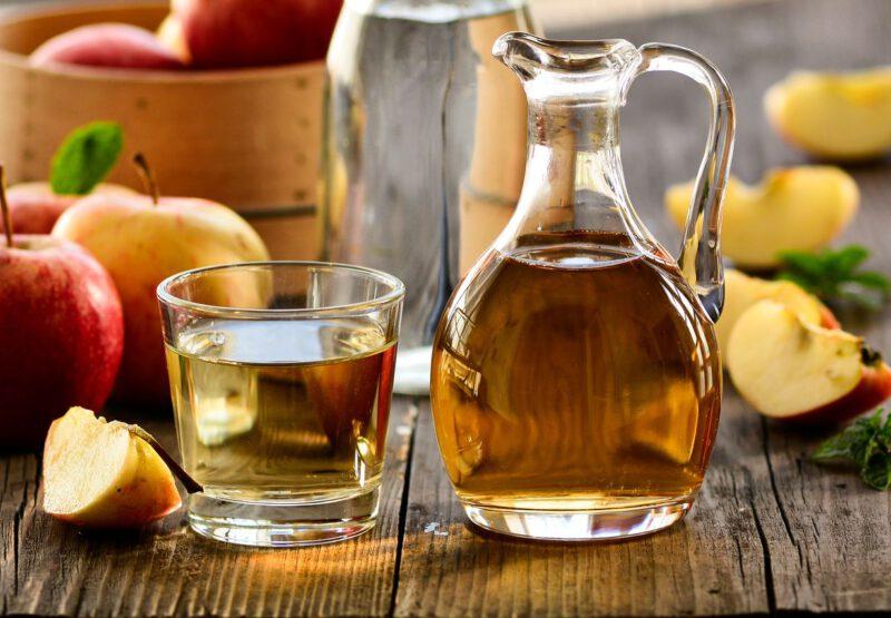 Vinagre de manzana para la caída del cabello
