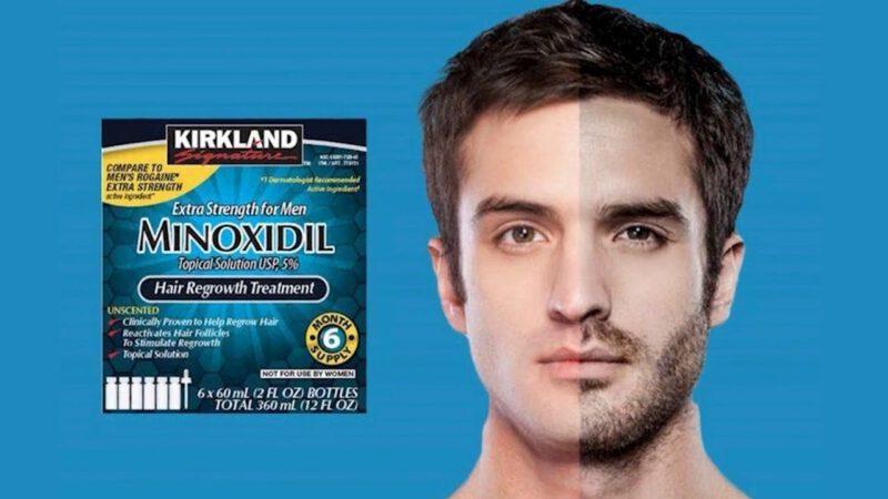 Monixidil para cabello y barba hombre